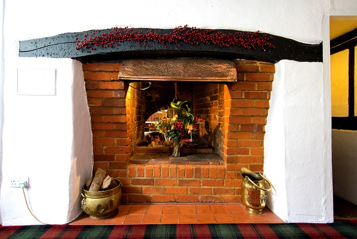 Bolton Arms - The Fireplace